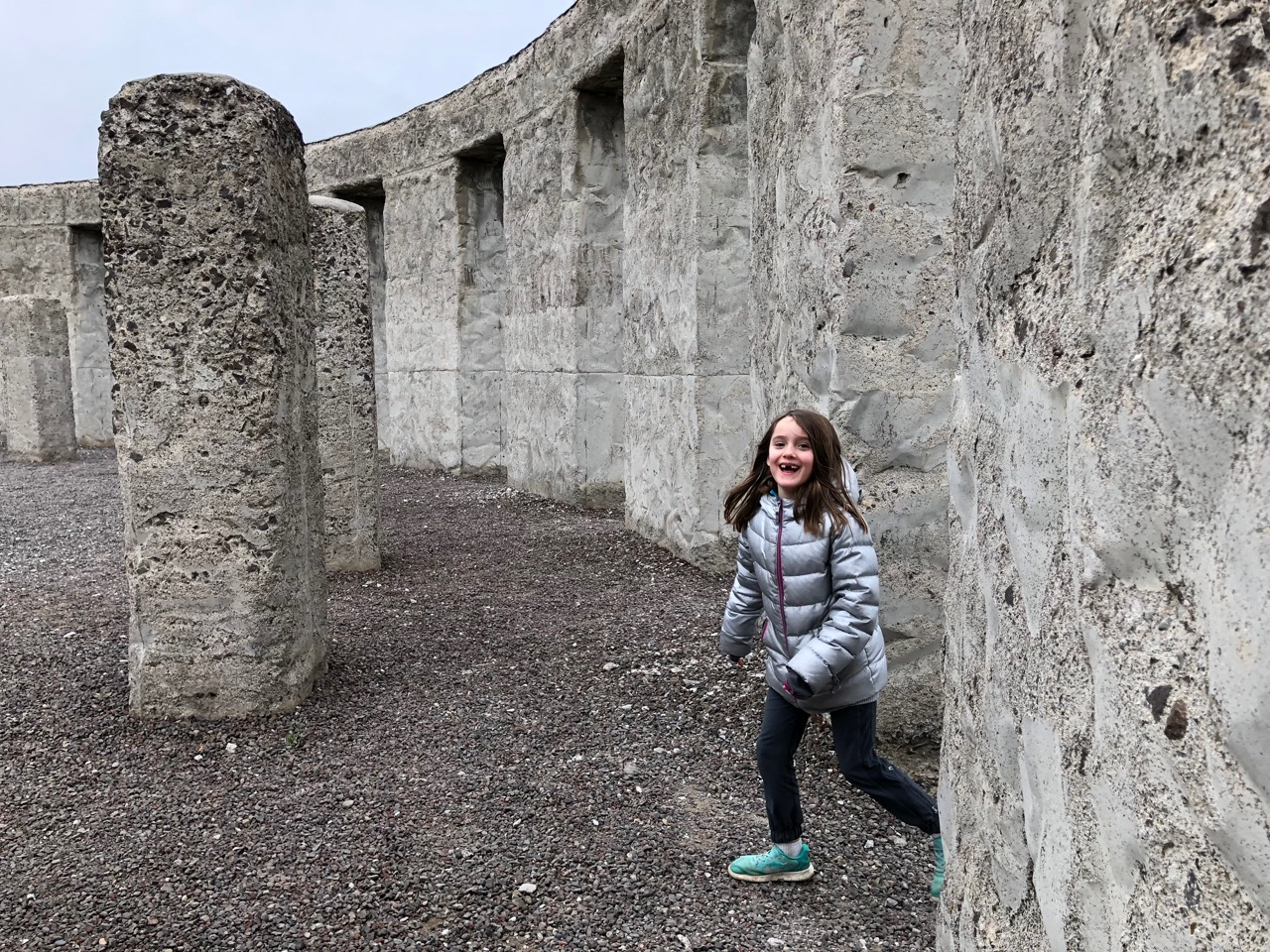 Maryhill Stonehenge hide and seek